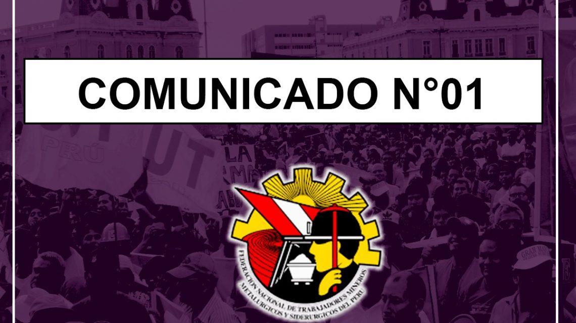 Comunicado N° 01-2019