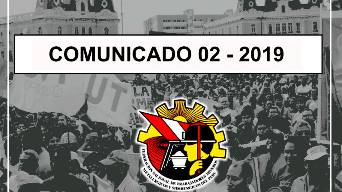 COMUNICADO Nº02 -2019