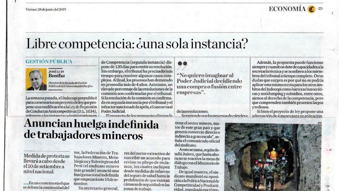 EL COMERCIO : Anuncian huelga indefinida de trabajadores mineros
